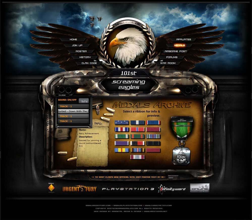 101 Clan Gaming Interface by ImmoRtalMedia