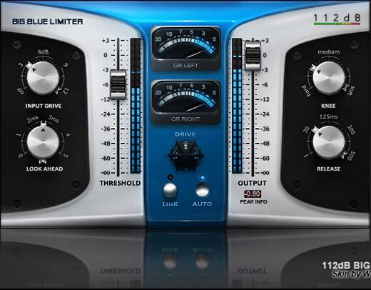 112dB Big Blue Limiter skin by s0nkite