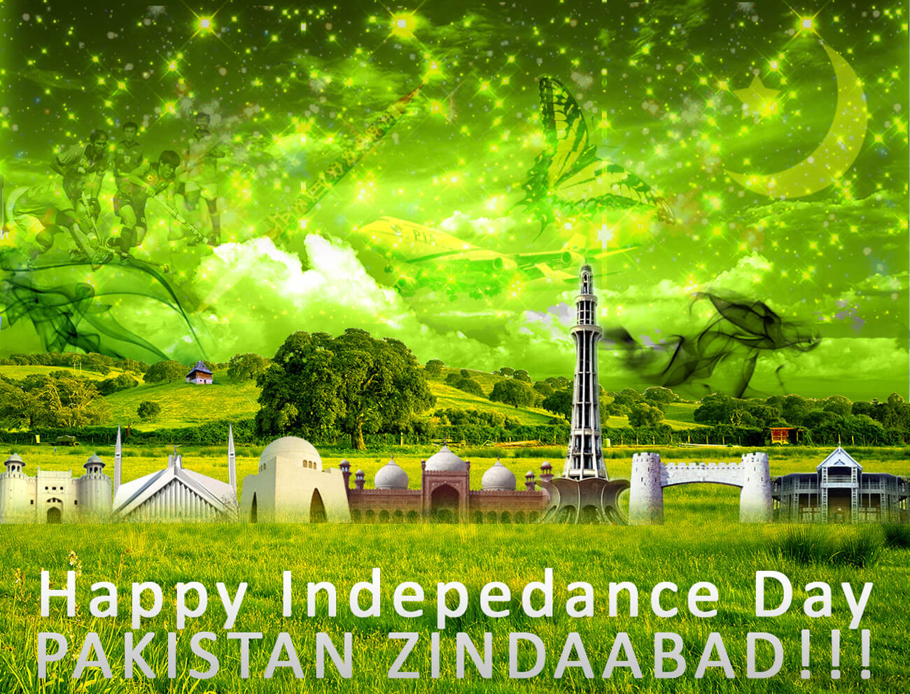 14 August Independence Day PAK by rameexgfx Rameez SOOMRO