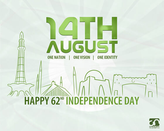 14th August - Independence Day by gr8najam Najam Ur Rehman