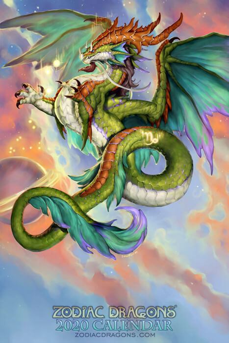 2020 Zodiac Dragons Capricorn by The-SixthLeafClover