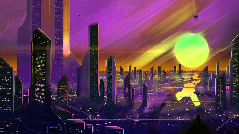 3019 - City of Bright Lights by JoeyJazz