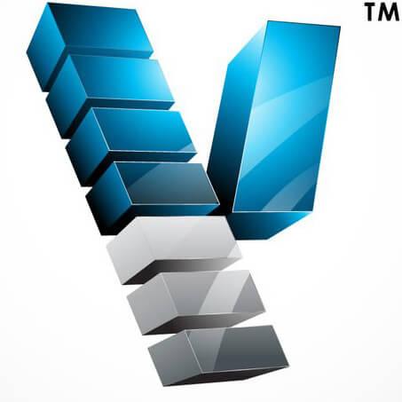 3d creative company logo featured