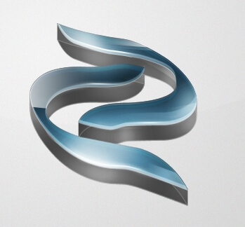 3D Logo 1st Try by creative88