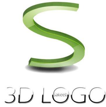 3D S Logo by sakeeb82