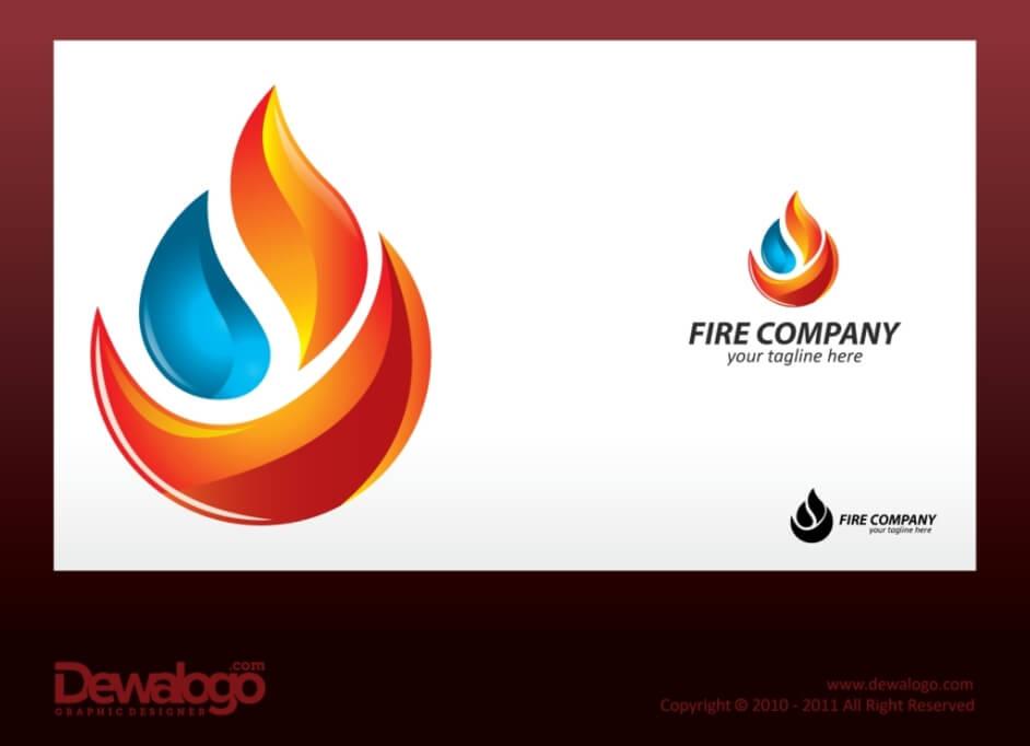 3d Logo Fire by dewaaaa
