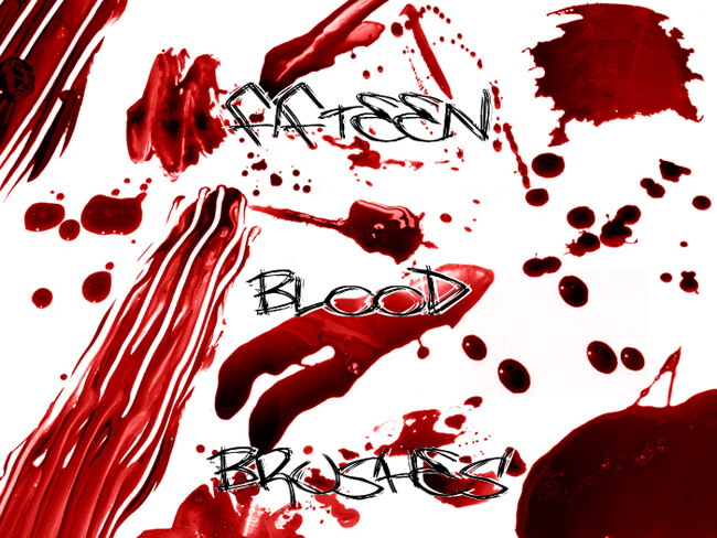 510 - Blood Brushes Set II by Blood--Stock