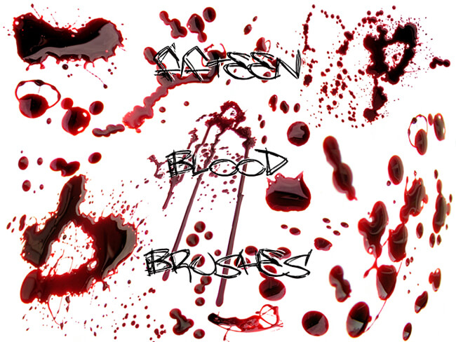 511 - Blood Brushes Set III by Blood--Stock