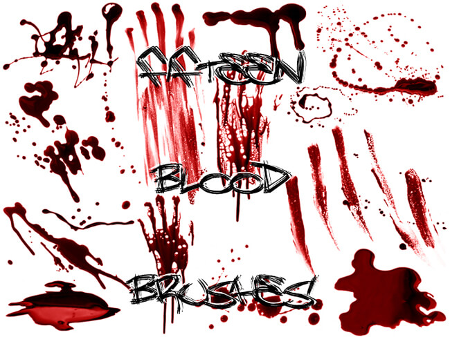 512 - Blood Brushes Set IV by Blood--Stock
