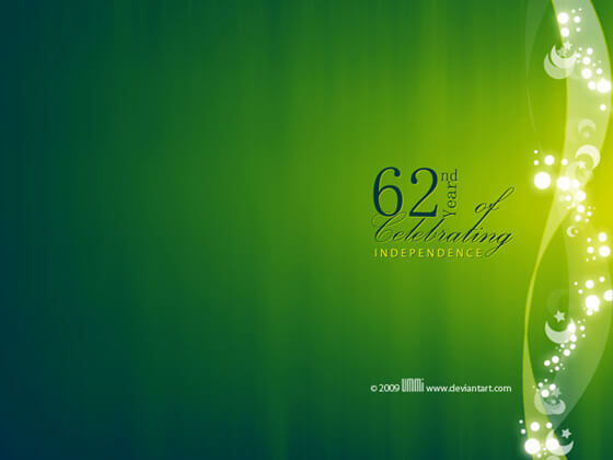 62nd Pakistan Independence Dayby ummigfx
