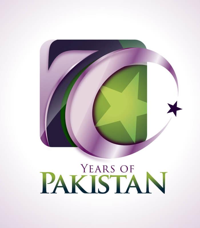 70 Year of Pakistan by Saqib Ahmed