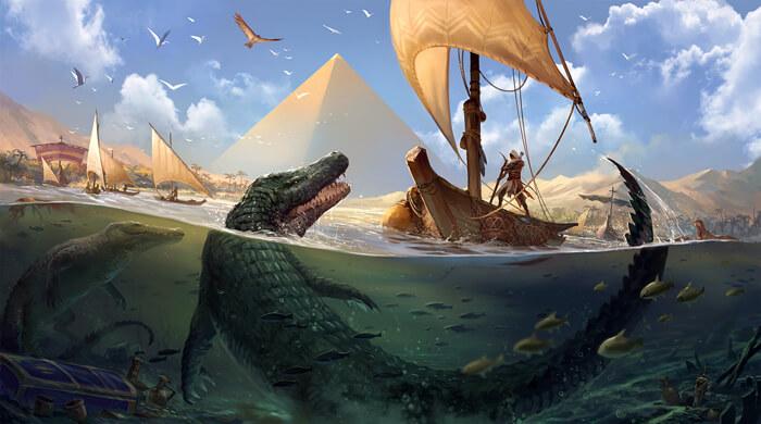 AC:Origins - Water Life by sandara