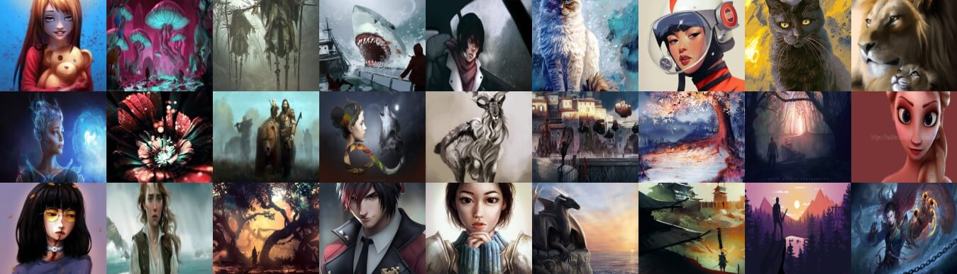 ART Collection of July 2018