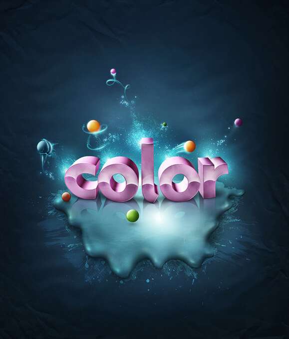 Add Fantastic Color to 3D Text