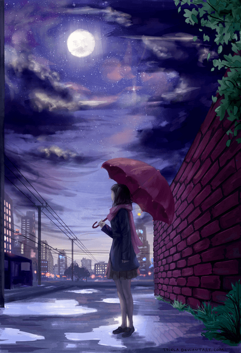 After the storm by Tpiola