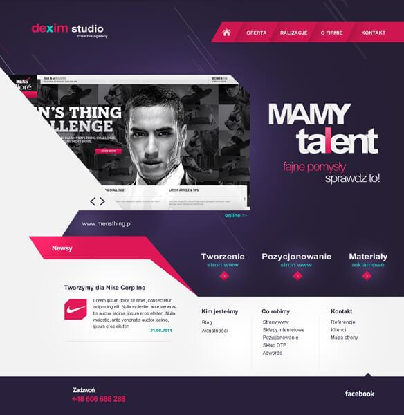 dexim studio Agency site by dexx27