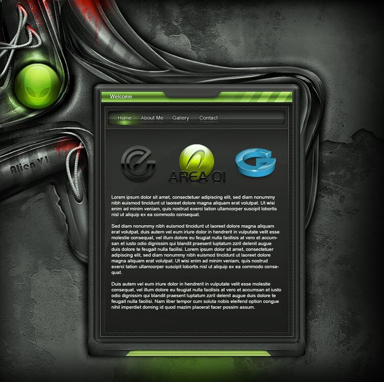 Alien Interface v1 by goodsilla