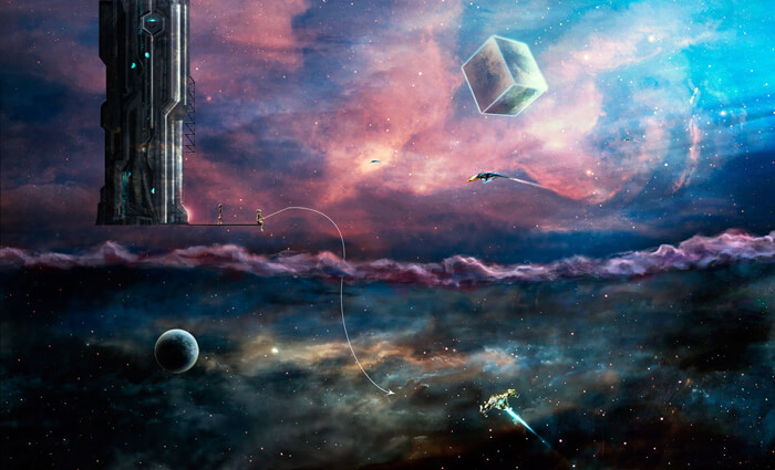Alien fishing by FugasCZ