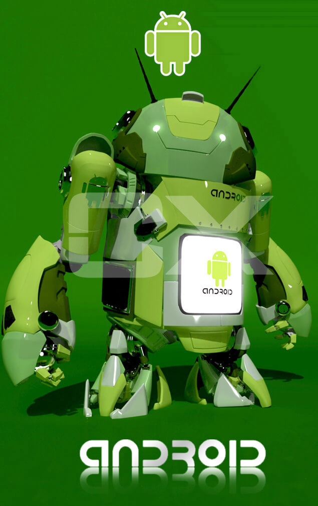Android Froyo by ~AeroleFlock