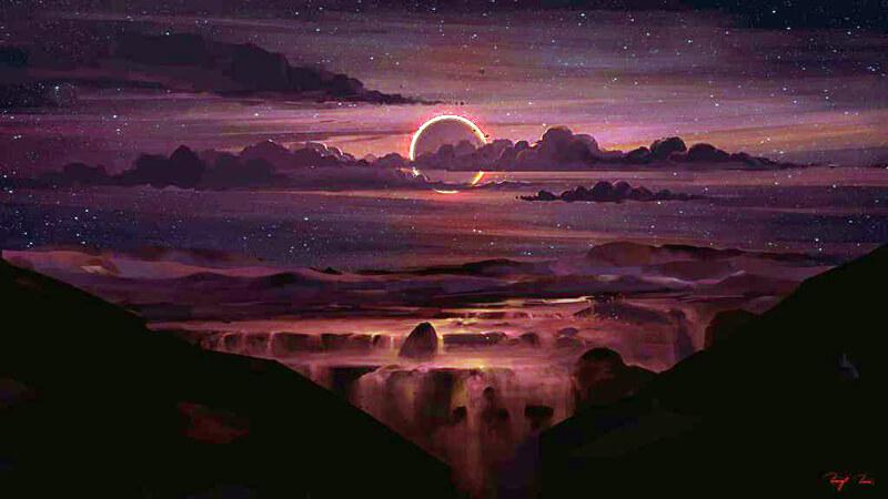 Annular Eclipse by BisBiswas
