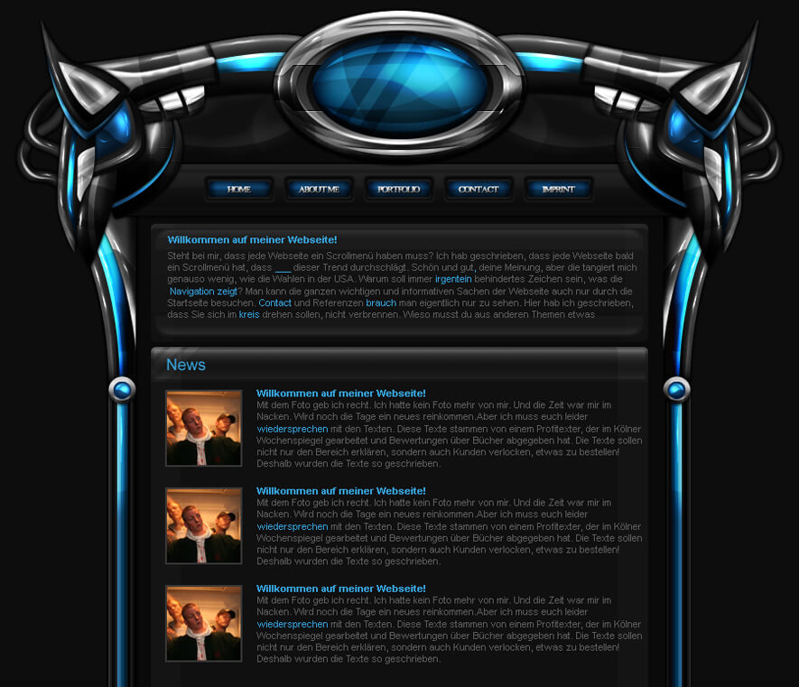Another Interface Design by Xalvi