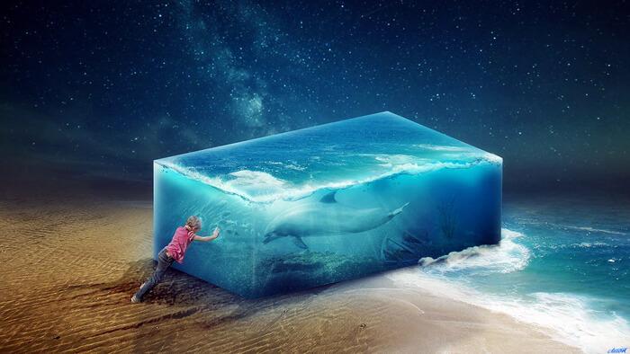 Aquarium by FantasyArt0102