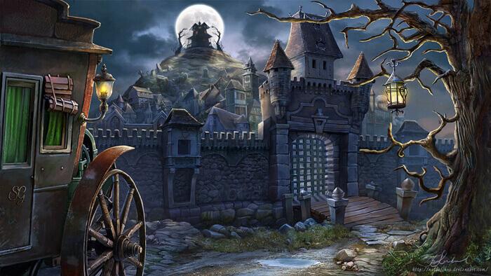 Elven Town by Mysterykids
