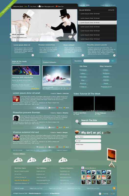 Art Site Design by Occygenlabs