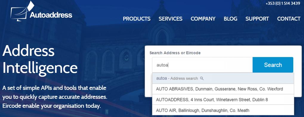 Autoaddress Address Capture