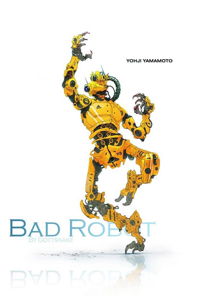Bad Robot by ~Gottsnake