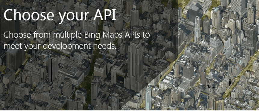 Bing Maps Developer Microsoft