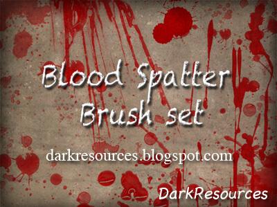 Blood Brushes by Darkresources