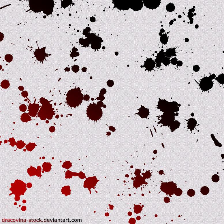 Blood Brushes by Dracovina-Stock