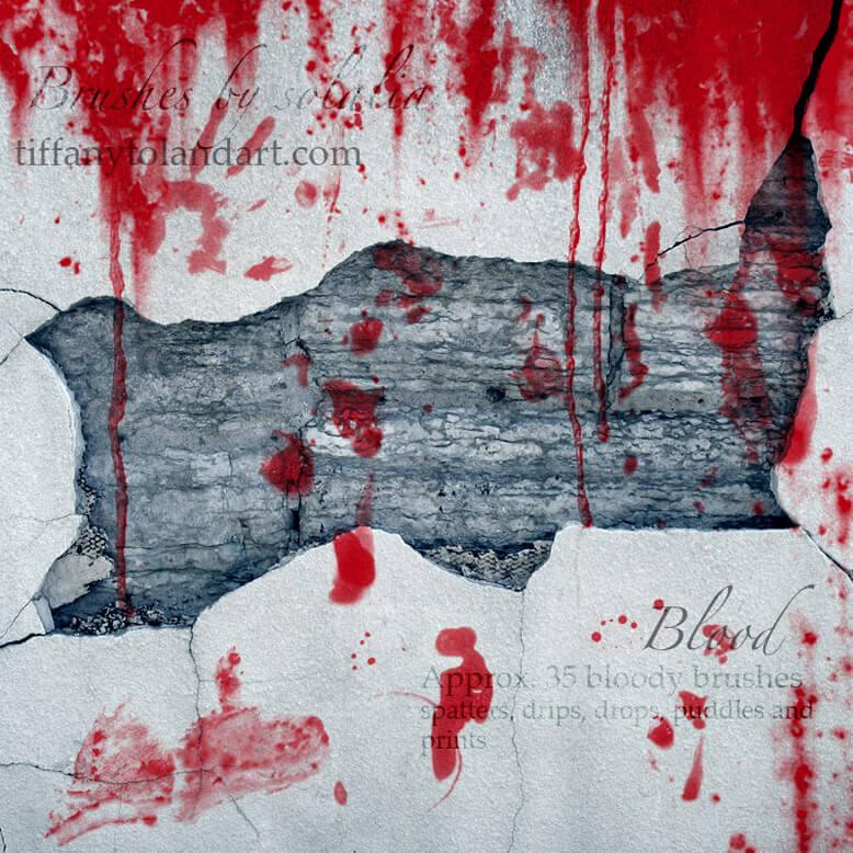Blood Brushes by solalia