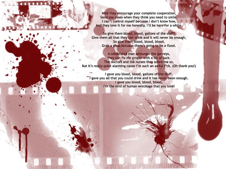 Blood Desktop by BlackGarnet