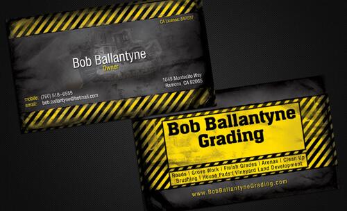 Bob Ballantyne Business Cards by caligrafx