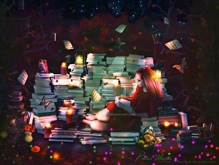 Book Harvest by Renata-s-art
