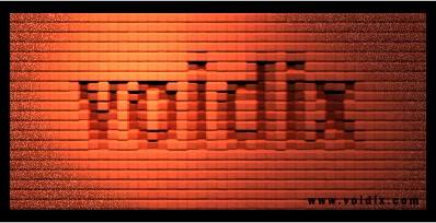 Brick Text Photoshop Tutorial