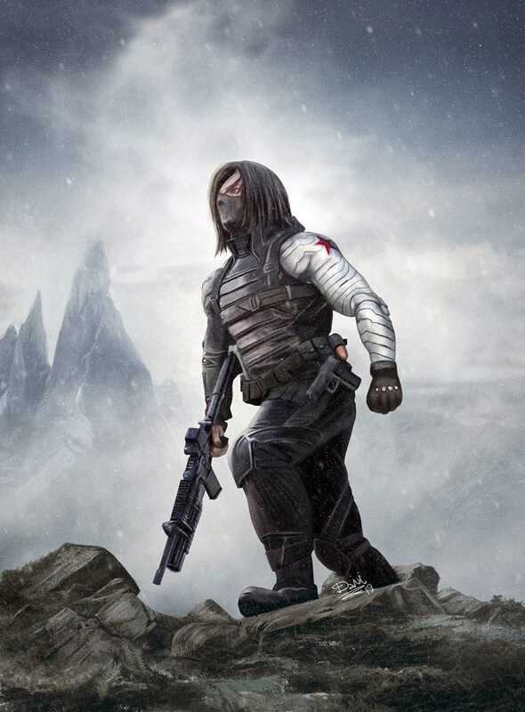 Bucky Barnes - The Winter Soldierby Dani-Owergoor