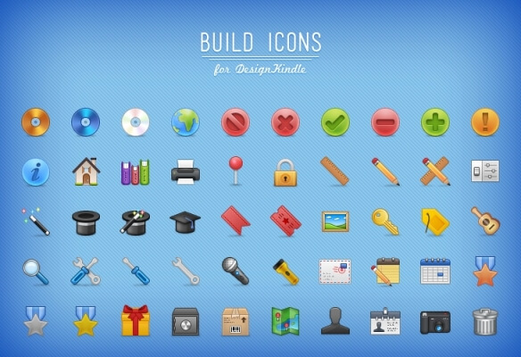 Build Icons - 48px by umar123