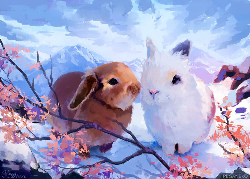 Buns by PegaNeko