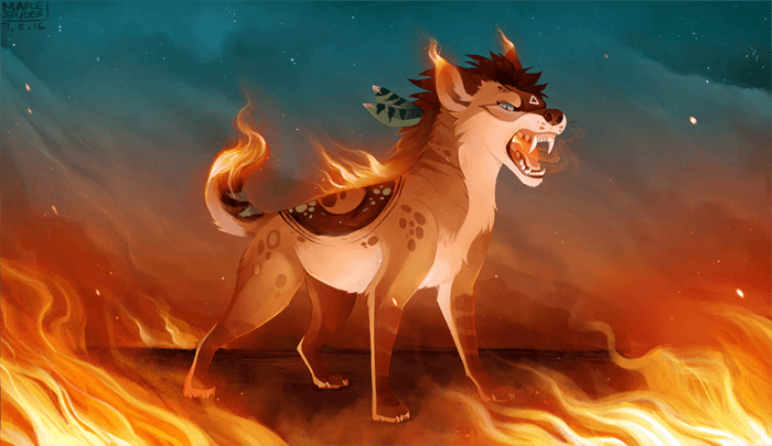 Burn by MapleSpyder