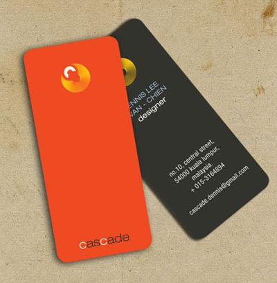 Business Card - Cascade by trinity9