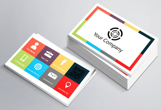 Business Card Template by banism24