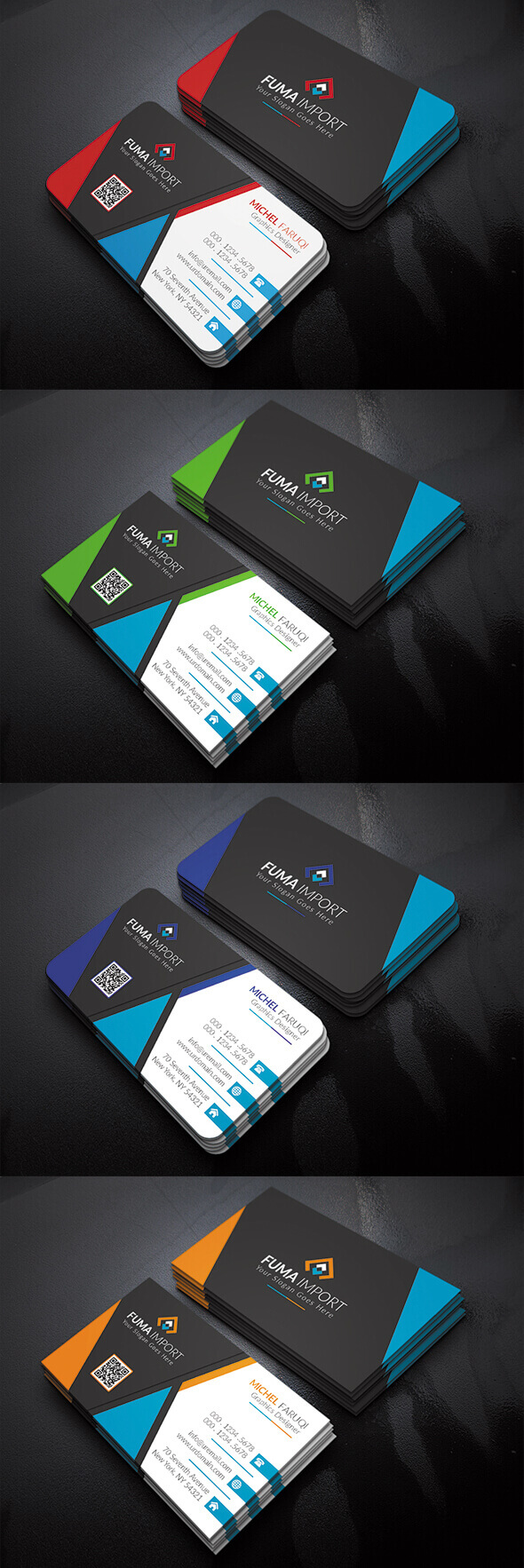 Business Card Vol-4 by codegrape