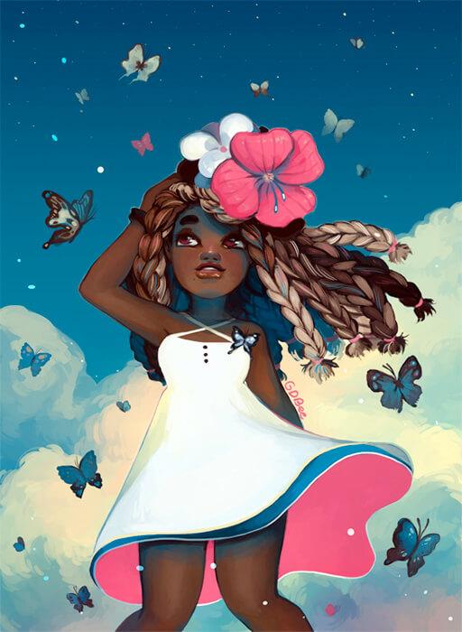 Butterflies by GDBee