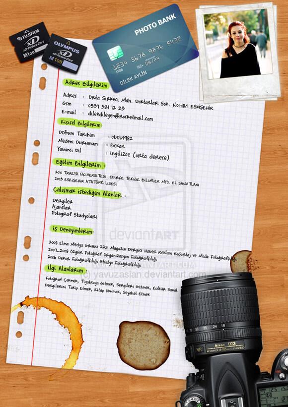 CV Sample by ~yavuzaslan