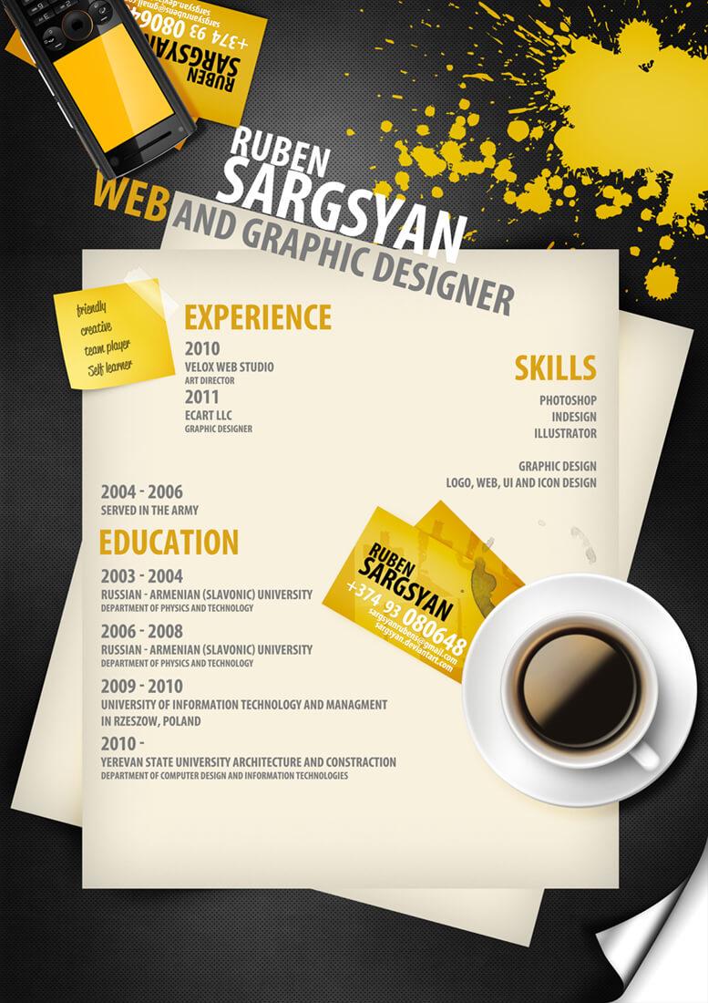 CV by ~sargsyan