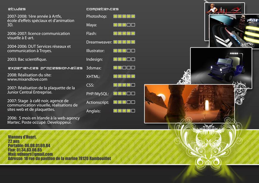 CV by ~vdhuart