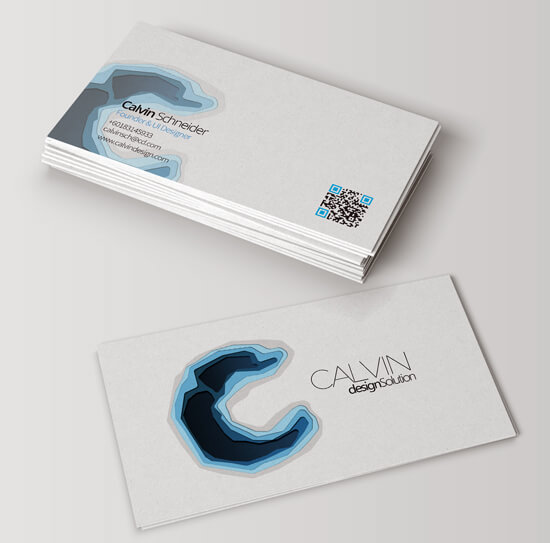 Calvin Design Business Card (Mock Up 2) by Stracci7